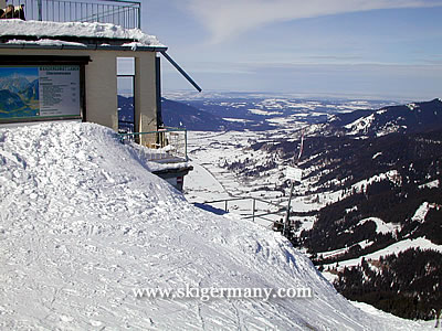 Laber Ski Area in Oberammergau, Germany