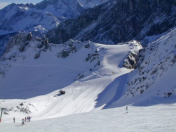 Garmisch skiing for Designhotel garmisch