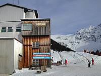 The mid-station of the Nebelhorn